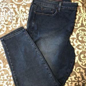 NYDJ Medium Wash Denim Legging, size 22W